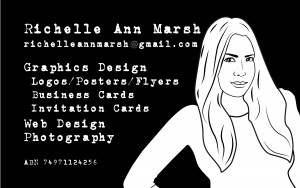 Richelle Marsh Business Card
